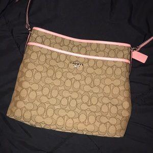 Coach crossbody bag; flexible price